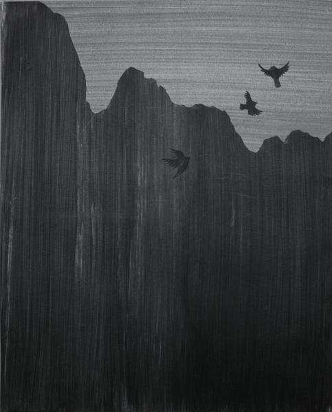 Untitled, 2012, collage, 14quot x 17quot