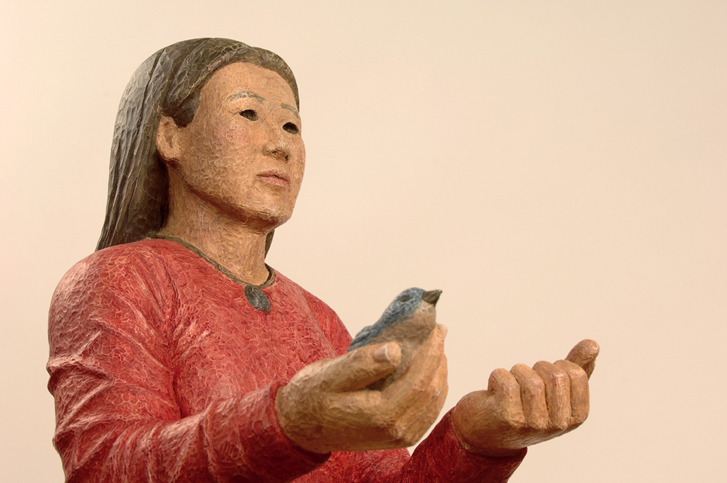 Bird in Hand (detail)