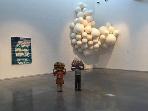 Installation shot at Maine Center for Contemporary Art